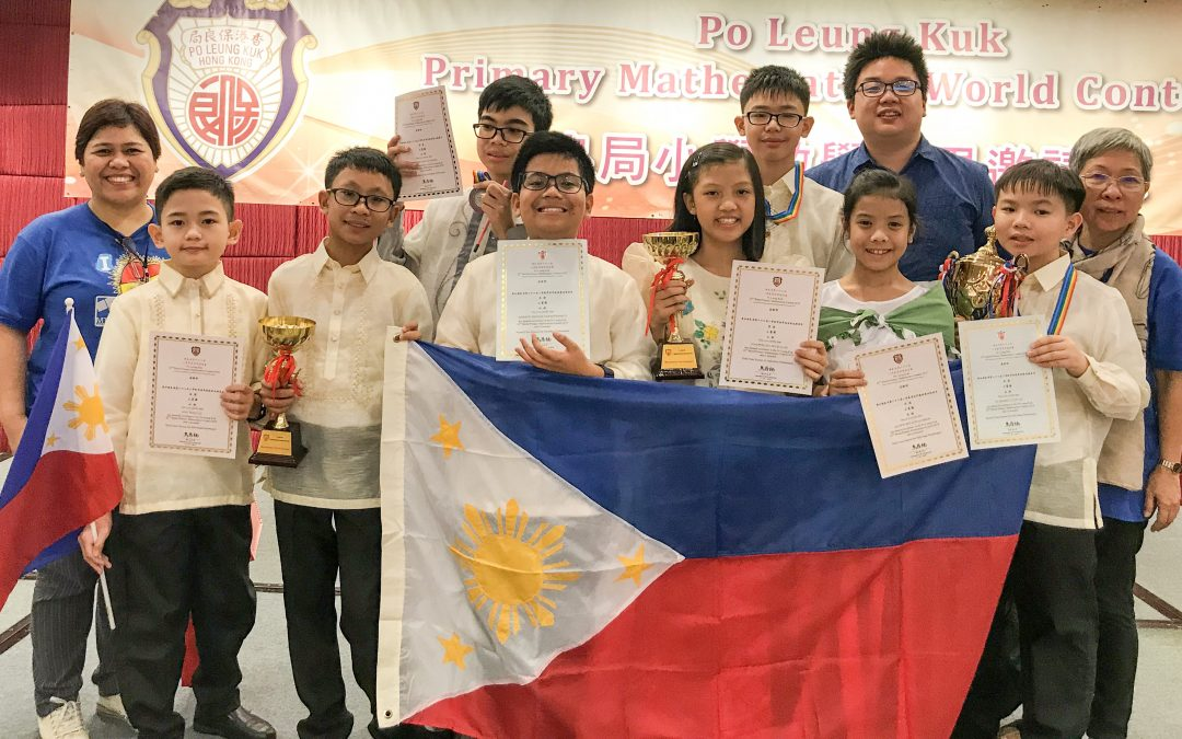 Pinoy students win world math contest in HK