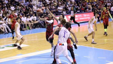 Photo of San Miguel outlasts TNT to tie PBA Finals, 2-2