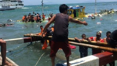 Photo of 59 rescued in another sea accident in Samar