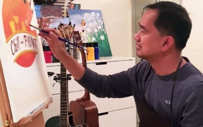 World-class Pinoy animator teaches fellow OFWs how to wield paintbrush like a master