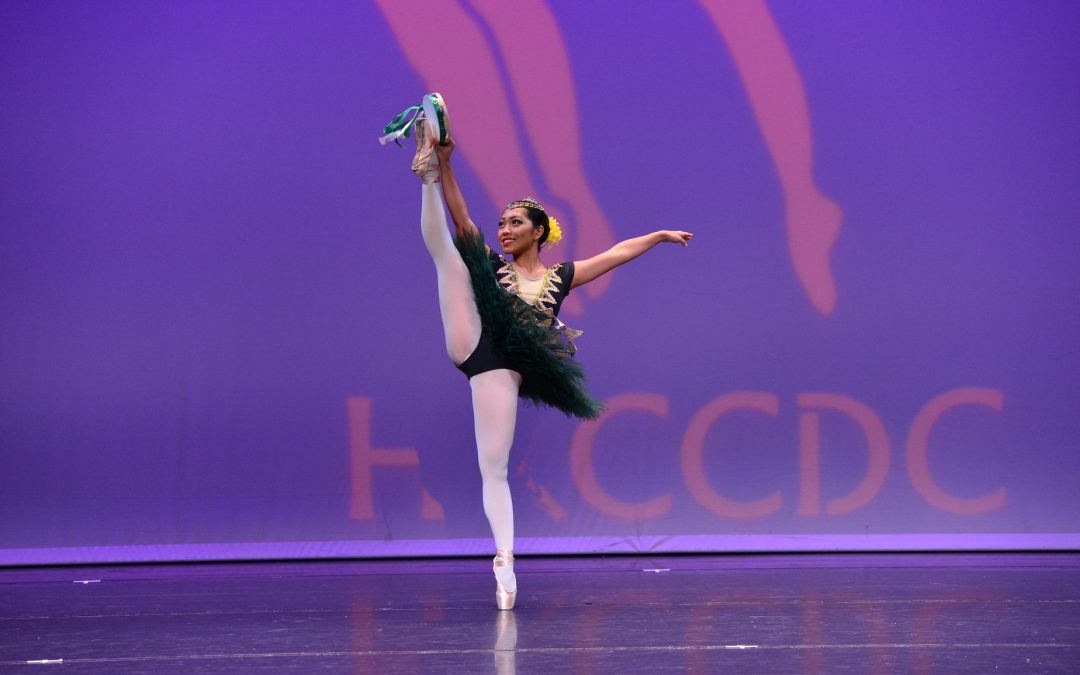 16 year-old Pinay ballerina wins gold at HK competition