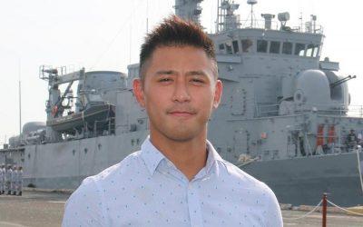 Rocco Nacino enlists in the Philippine Navy