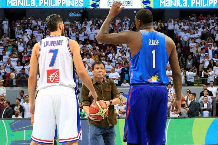 Duterte to cheer for Gilas against Italy in FIBA World Cup