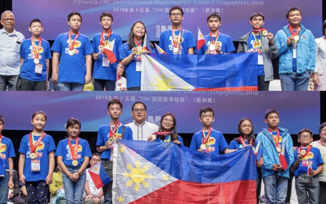 Pinoy students win 189 medals at int'l math contest