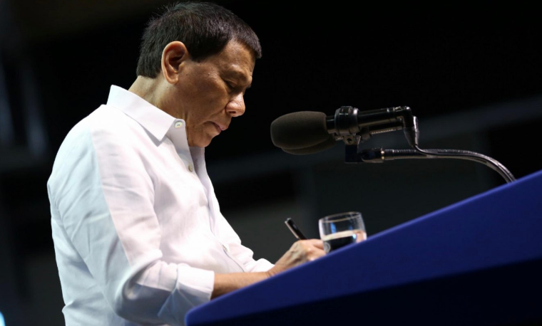 Malacañang denies Duterte is confined in hospital