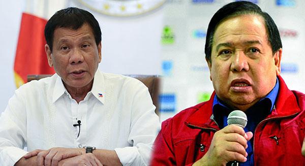 Duterte to Gordon: Yung utak mo natutunaw