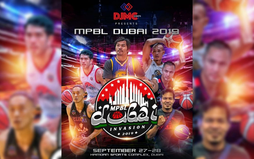 Pacquiao, celebrities to play at Maharlika Pilipinas Basketball League in Dubai this September