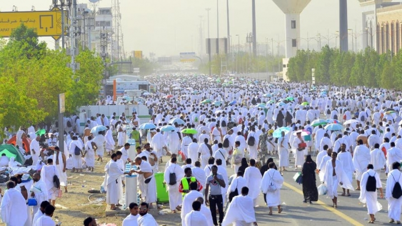 1.4 M pilgrims arrive in Saudi Arabia for Hajj
