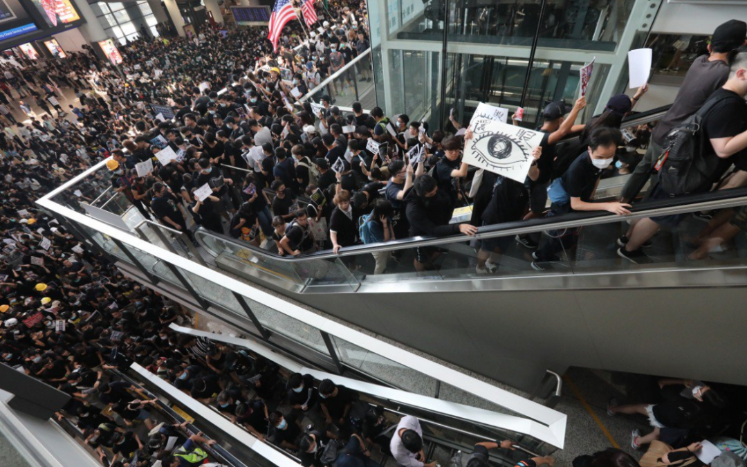 "China tags HK protest ""sprouts of terrorism"""