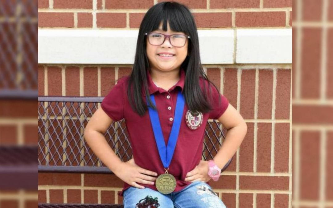 8-year-old Fil-Am wins National Spanish Spelling Bee Championship