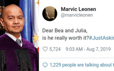 SC Justice to Bea, Julia: Is he really worth it?