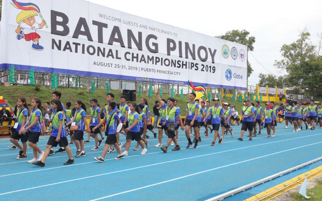 Batang Pinoy 2019 opens; DepEd Briones: make sports a profession