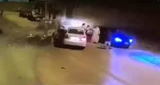 WATCH: Movie-like car fight in Saudi