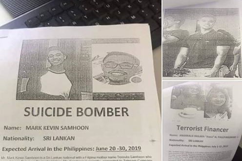 NBI: OFW to face charges for sending false info about alleged Sri Lankan terrorists