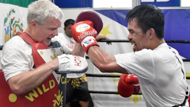 Photo of Pacquiao's trusted men on collision course as Buboy draws Roach's ire
