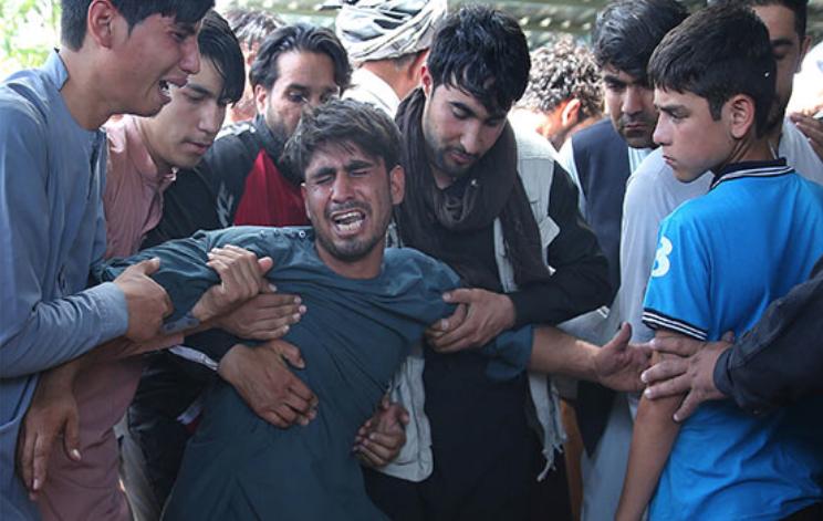 Groom has 'lost hope' after deadly wedding blast