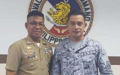 Cesar Montano joins Philippine Naval Reserve Force