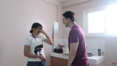 Photo of WATCH: Businessman-vlogger gives former OFW a house as a birthday present