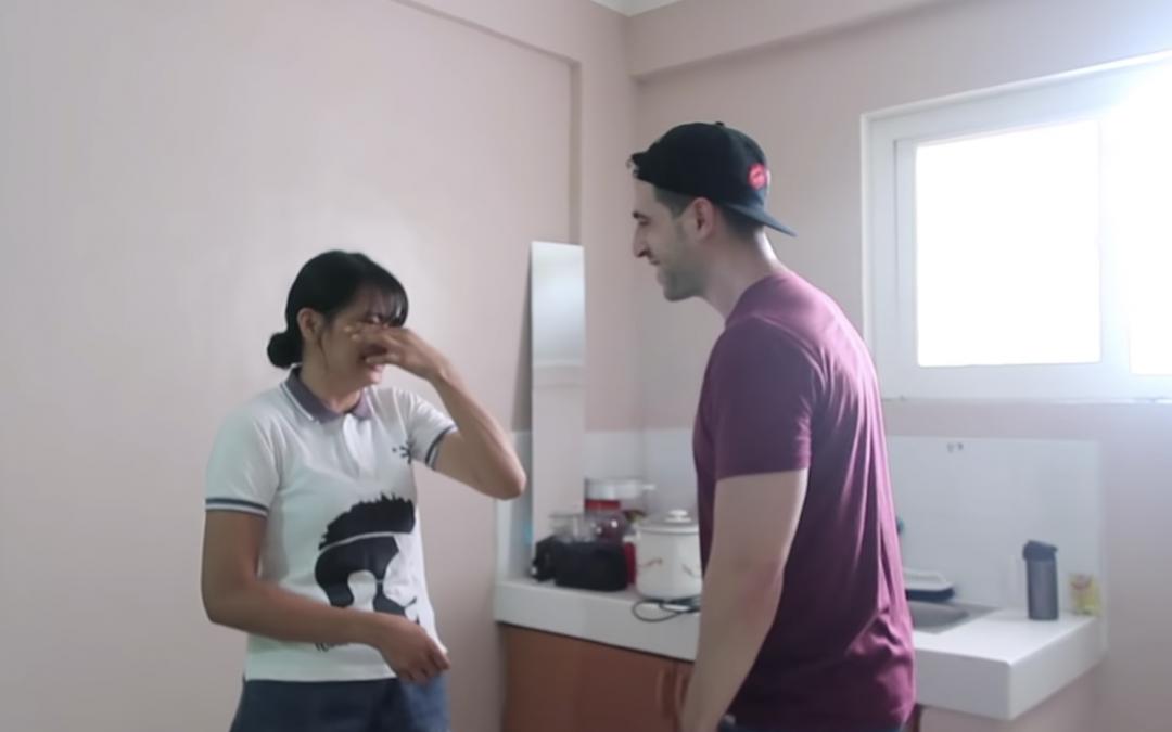 WATCH: Businessman-vlogger gives former OFW a house as a birthday present