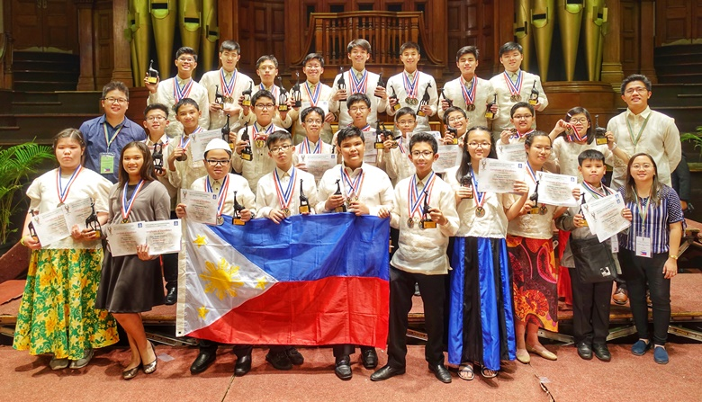 Filipino students shine in math competition in South Africa