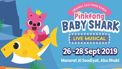 Photo of Dance with 'Pinkfong and Baby Shark' at a live musical theater show in Abu Dhabi