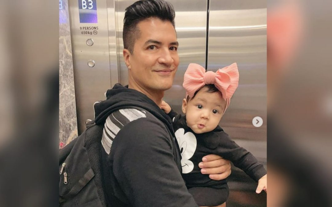 Troy Montero suggests having diaper changing stations inside men's comfort rooms in malls