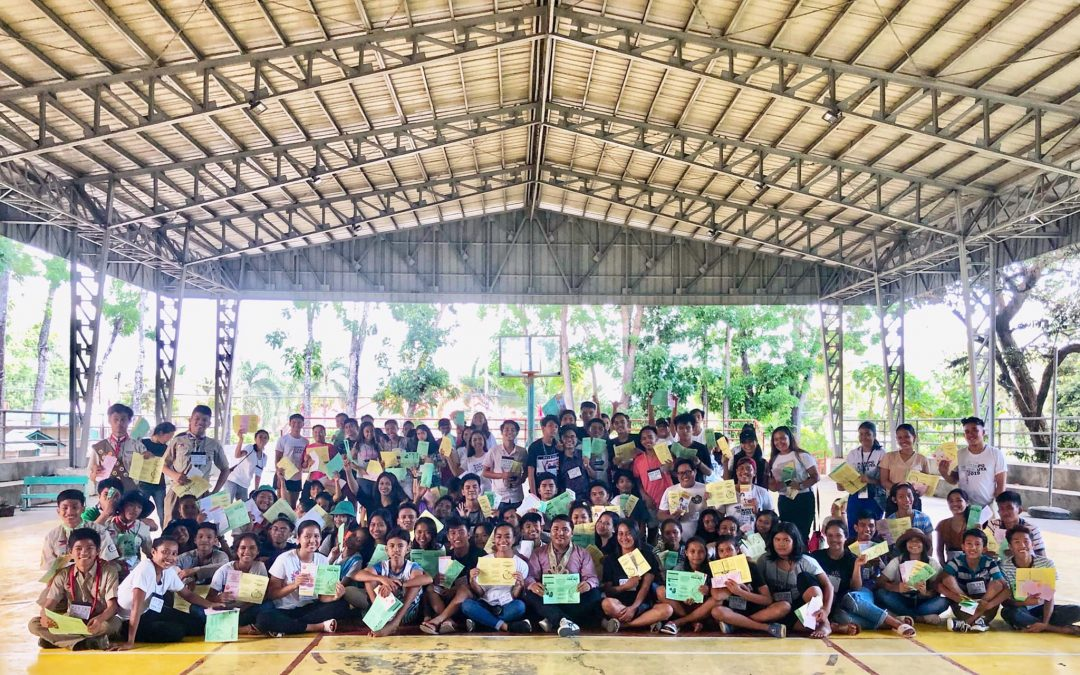 Filipino youth promotes maternal and child's health globally