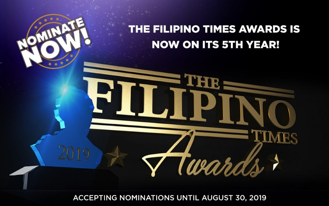 Nominations now open for The Filipino Times Awards 2019