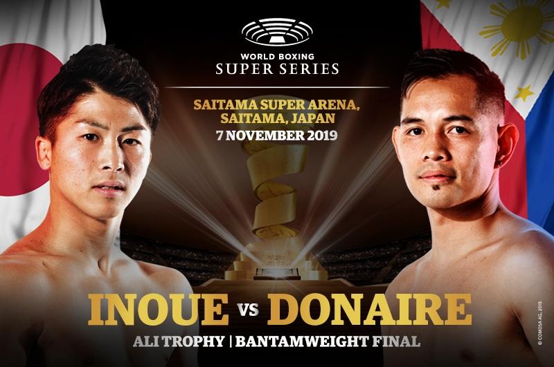 Donaire sets to fight Inoue for WBA World Bantamweight Championships