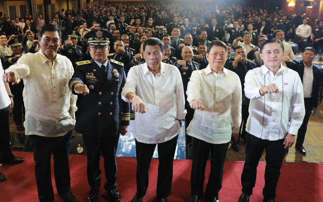 Duterte wants guns for firefighters