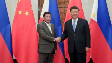 Photo of Duterte to Chinese Pres Xi JinPing: Thank you, maybe someday I can repay you
