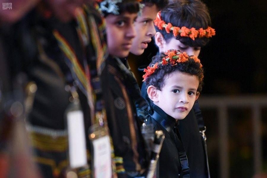 Saudi Arabia celebrates the world's first Flowerman Festival