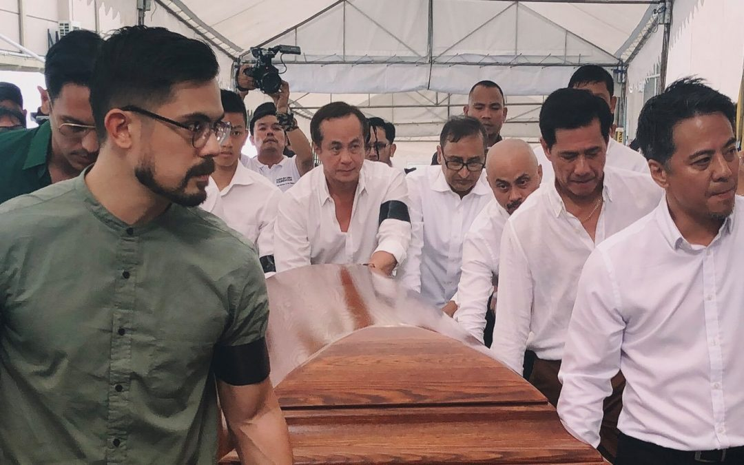 Former Environment Chief Gina Lopez laid to rest