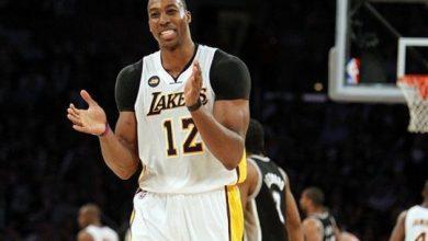 Photo of Howard reunites with LA Lakers
