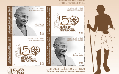Emirates Post issues 6,000 commemorative stamps of Mahatma Gandhi