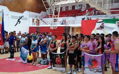 Congen's Cup Basketball Tournament kicks off in Dubai
