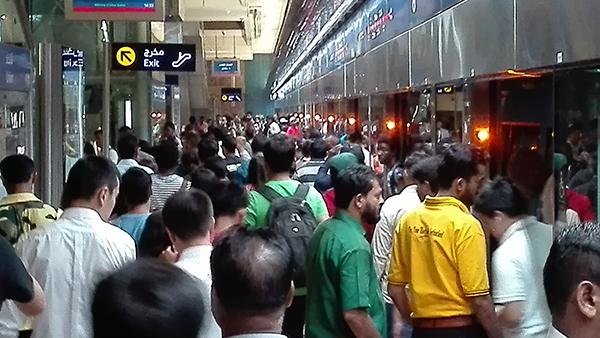 10 types of Dubai metro riders