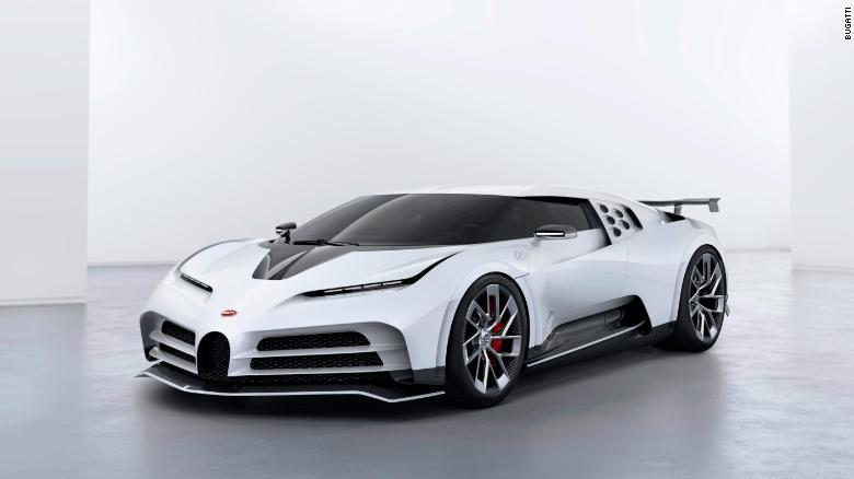 LOOK: The $9 million Bugatti Centodieci – and only 10 will roll out of the factory