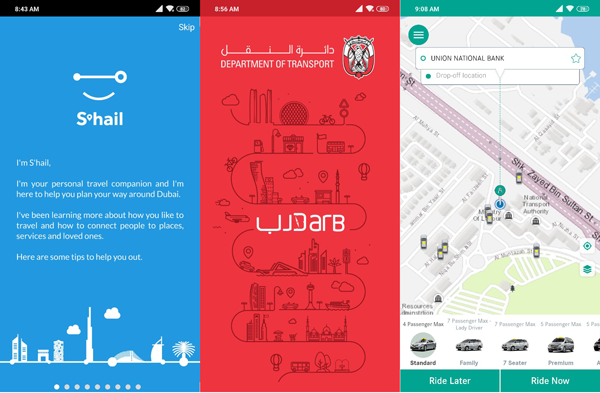 Top apps for your journey on UAE's roads