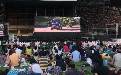 Abu Dhabi to screen Hollywood blockbusters on free outdoor cinema