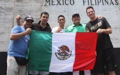 Mexican Ramirez arrives, to fight Casimero in WBO Bantamweight clash