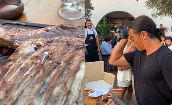 WATCH: Salt Bae hides ring in steak