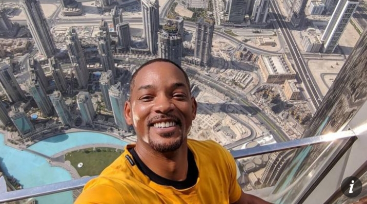 Will Smith spends holiday getaway in Dubai