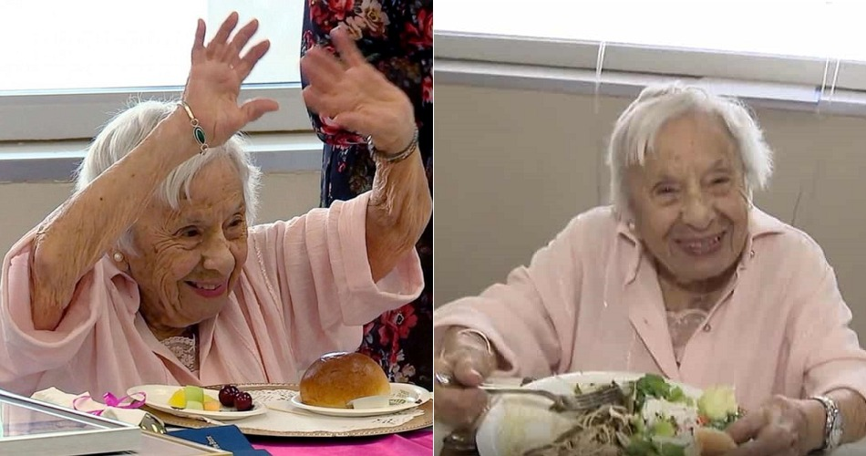 107-year-old woman says the secret to long life is not getting married