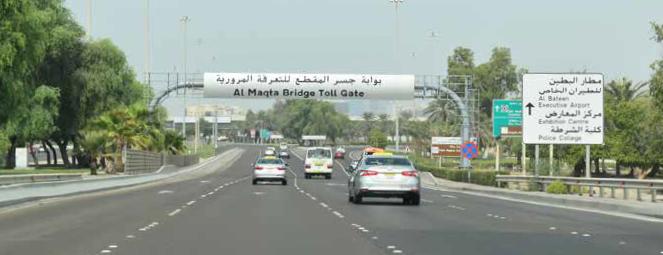Online registration portal for Abu Dhabi road tolls launched