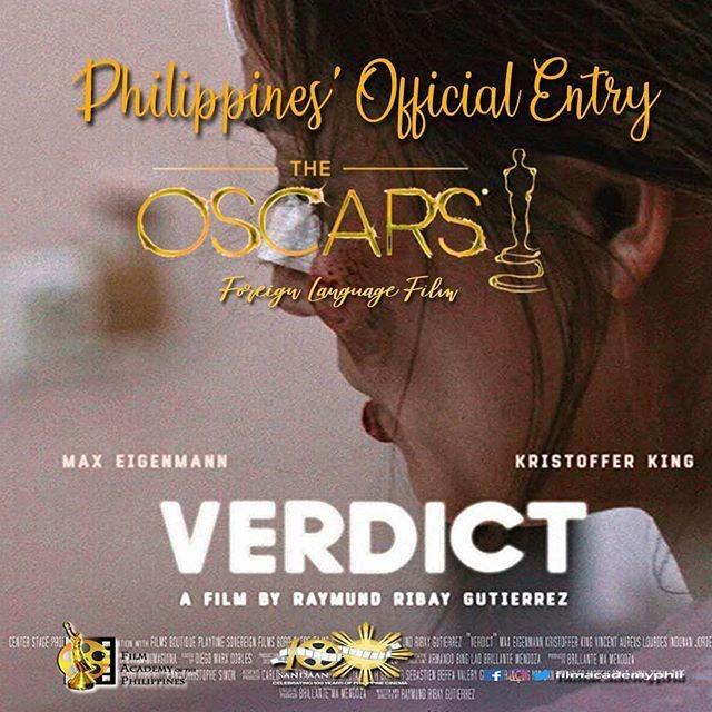 Filipino film 'Verdict' to compete in Oscars