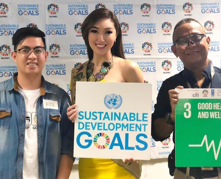 2017 Miss Earth Karen Ibasco to join the first Youth Climate Summit