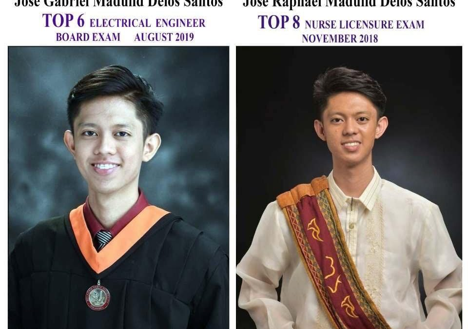 LOOK: Twin brothers become topnotchers on licensure exams