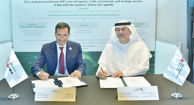 Etihad Credit Insurance partners with Dubai Exports to strengthen overseas expansion plans of Dubai-based businesses