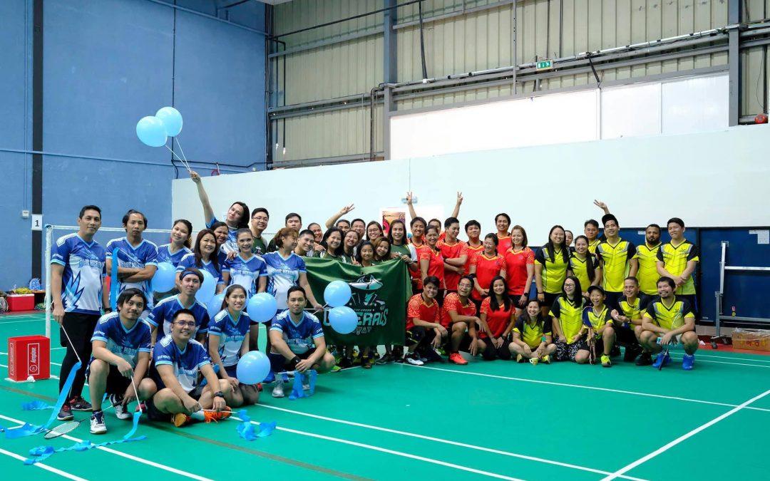 "All-Pinoy Badminton group: The Al Rigga ""friendship"" trademark"